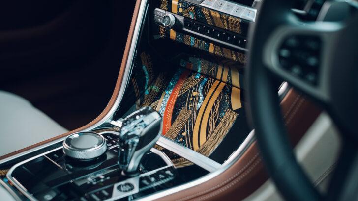 Центральная консоль BMW 8-Series Gran Coupe Kyoto Edition. Фото BMW