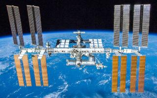 Международная космическая станция. Фото NASA