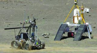 Лунный робот. Фото NASA Photo