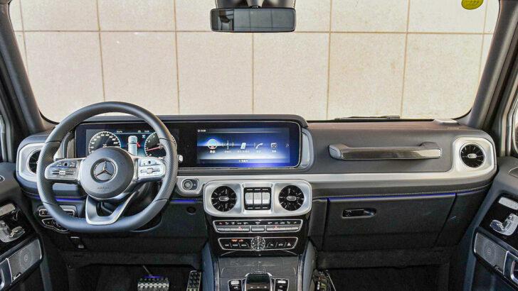 Интерьер Mercedes-Benz G 350 Фото autohome.com.cn