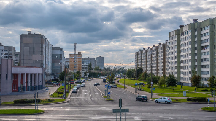 Минск, Белоруссия. Фото Homoatrox