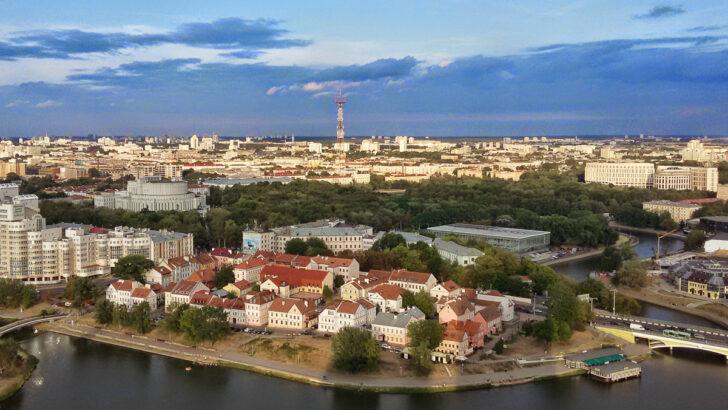 Минск. Фото Vadim Sazanovich