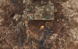 Украшения из усыпальницы. Фото Управления культурного наследия Южной Кореи