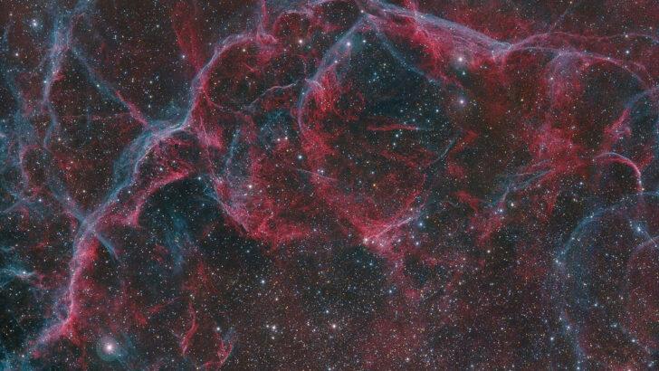 остаток сверхновой в южном созвездии Парусов. Фото Harel Boren