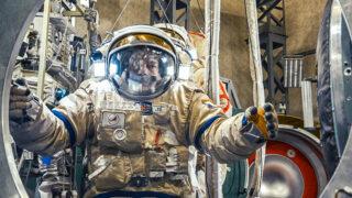 Тренировка космонавта. Фото Christopher Michel