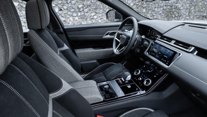 Интерьер Land Rover Range Rover Velar. Фото Land Rover