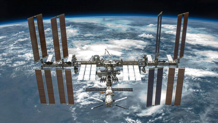 МКС. Фото NASA