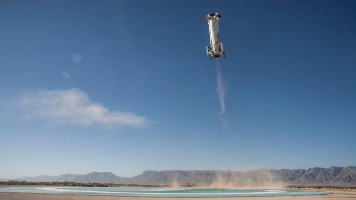 Ракета-носитель New Shepard. Фото NASA