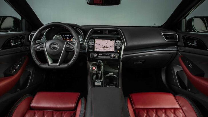 Интерьер Nissan Maxima 40th Anniversary Edition. Фото Nissan