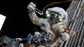 Космонавт Олег Артемьев. Фото NASA