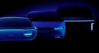 Электрокары. Фото Hyundai