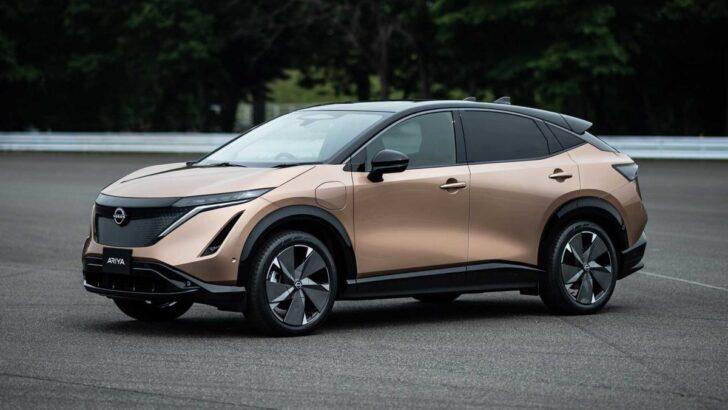 Nissan Ariya. Фото Nissan