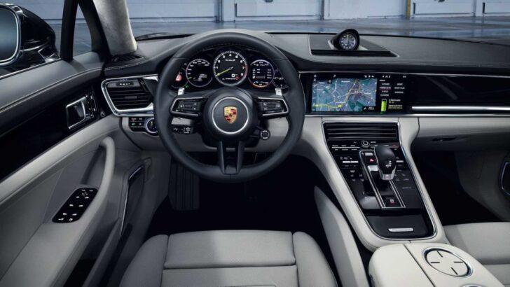 Porsche Panamera Turbo S E-Hybrid interrior. Фото Porsche