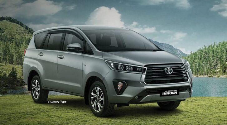 Toyota Innova. Фото Toyota