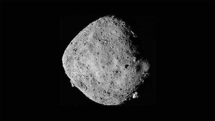 Астероид Бенну. Фото NASA