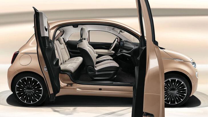 Fiat 500e. Фото Fiat