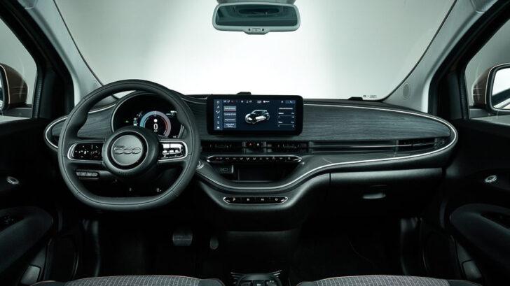 Интерьер Fiat 500e. Фото Fiat