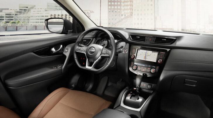 Интерьер Nissan Qashqai. Фото Nissan