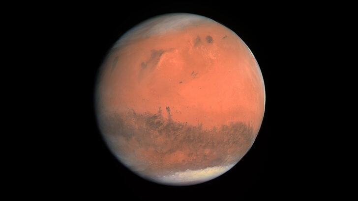 Марс. Фото ESA & MPS for OSIRIS Team