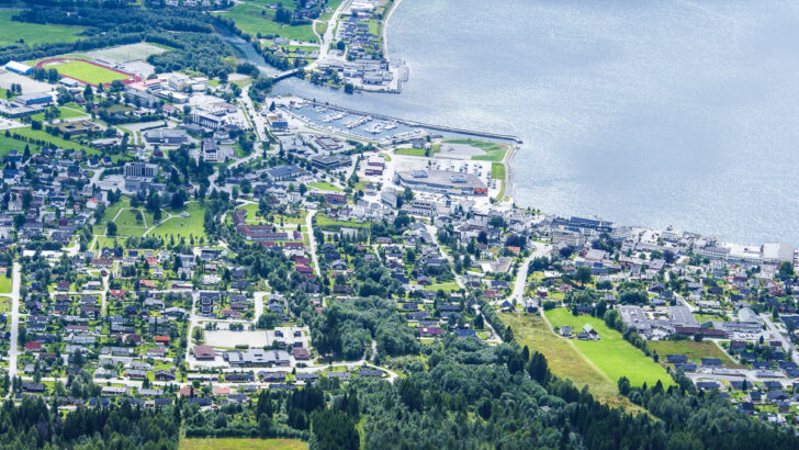 Деревня Орста, Норвегия. Фото Algkalv