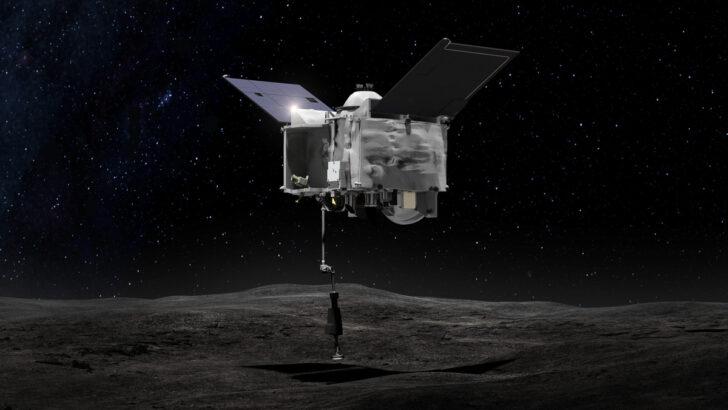 Зонд OSIRIS REx. Иллюстрация NASA