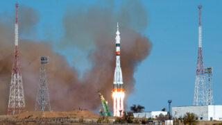 Союз МС-17. Фото NASA