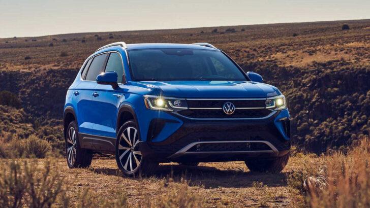 Volkswagen Taos. Фото Volkswagen