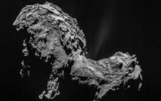 Комета Комета Чурюмова — Герасименко. Фото ESA