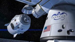 Космический корабль Crew Dragon. Фото SpaceX