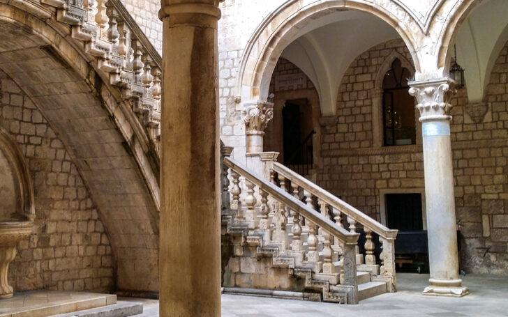 Княжий двор в Дубровнике. Фото Kigsz