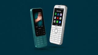 Nokia 6300 4G и Nokia 8000 4G. Фото HMD Global