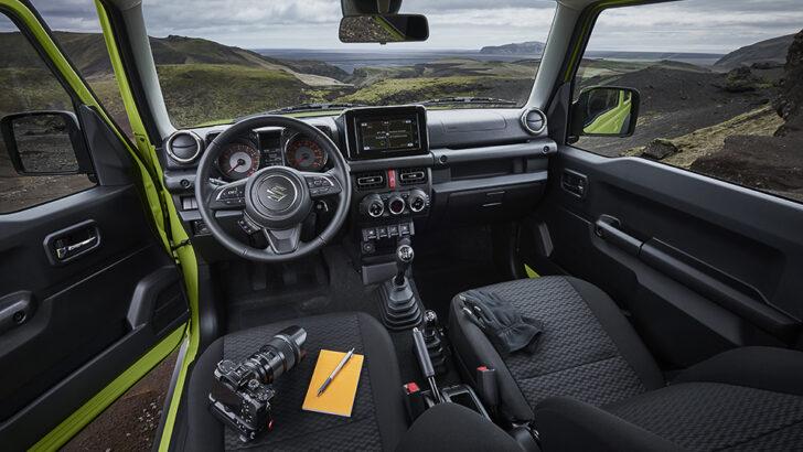 Интерьер Suzuki Jimny. Фото Suzuki