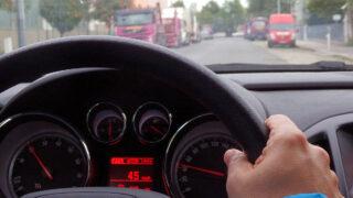 Вождение автомобиля. Фото MikeRun