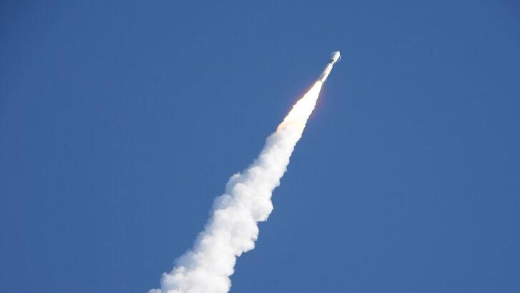 Запуск ракеты H-IIA. Фото Norihide Saitou