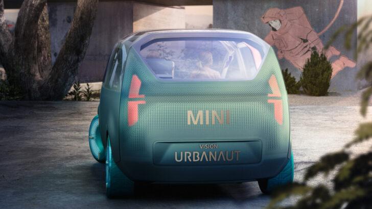 Концепт MINI Vision Urbanaut. Фото MINI