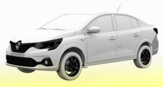 Renault Taliant. Фото патентного ведомства Бразилии