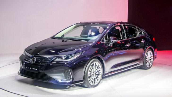 Toyota Allion. Фото Nissangeniss
