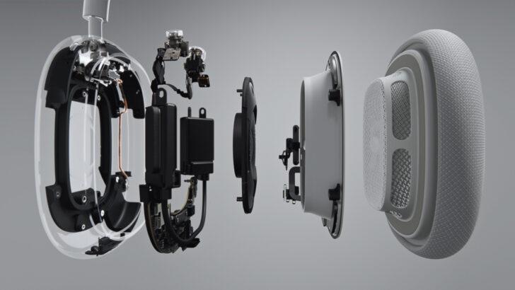 """""""Внутренности"""" Apple AirPods Max. Фото Apple"""