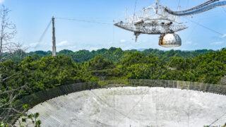 """Радиотелескоп """"Аресибо"""" до обрушения. Фото Mario Roberto Durán Ortiz"""