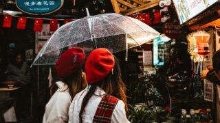 Дождливая погода в Китае. Фото Max van den Oetelaar/Unsplash