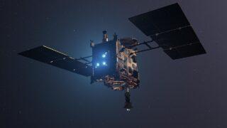 Космический аппарат Hayabusa 2. Фото DLR German Aerospace Center (CC BY 2.0)