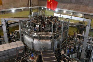 Термоядерный реактор HL-2M Tokamak в процессе строительства. Фото Mlcumi (CC BY-SA 4.0)