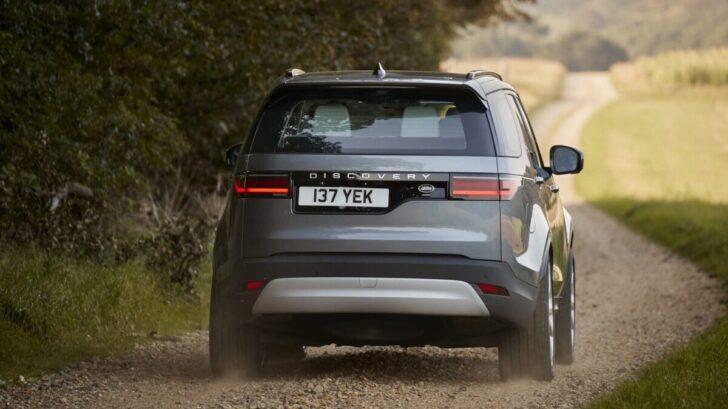 Land Rover Discovery. Фото JLR