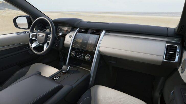 Интерьер Land Rover Discovery. Фото JLR