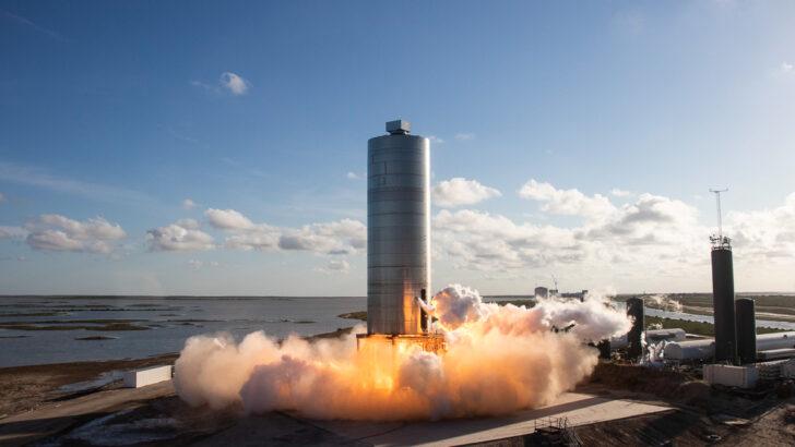 Starship SN5. Фото SpaceX (CC BY-NC 2.0)