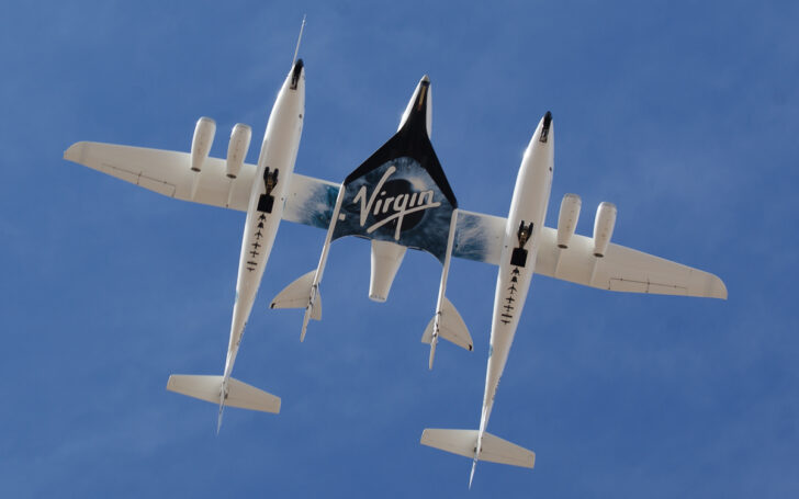White Knight Two и SpaceShipTwo. Фото Jeff Foust (CC BY 2.0)