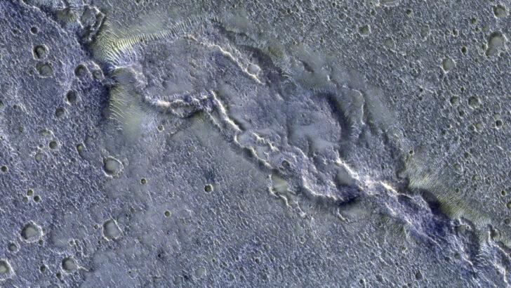 Гряда Солнца. Фото «Роскосмоса»