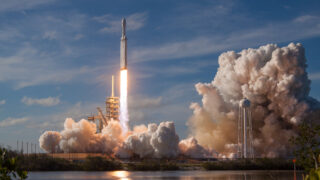 Falcon Heavy. Фото SpaceX (CC BY-NC 2.0)