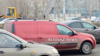 «Грузовой» Lada Largus FL. Фото AvtoVAZ News