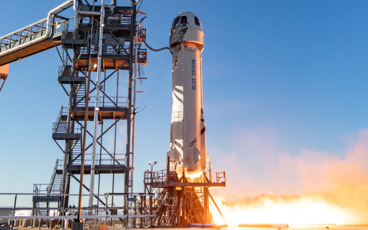 Космический корабль New Shepard. Фото NASA (CC BY-NC 2.0)
